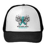 Myasthenia Gravis Awareness Butterfly Mesh Hats