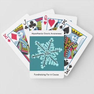 Myasthenia Gravis Awareness Gifts Poker Deck