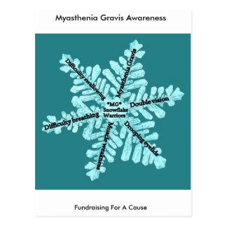 Myasthenia Gravis Awareness Gifts Postcard