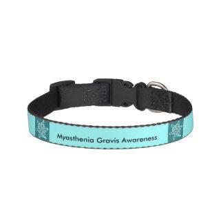 Myasthenia Gravis Awareness Sm Dog Collar