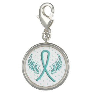 Myasthenia Gravis Awareness Wings Bracelet Charm