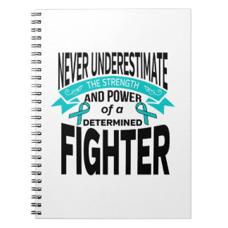 Myasthenia Gravis Determined Fighter Notebook