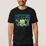 Myasthenia Gravis Messed With Wrong Chick T Shirt