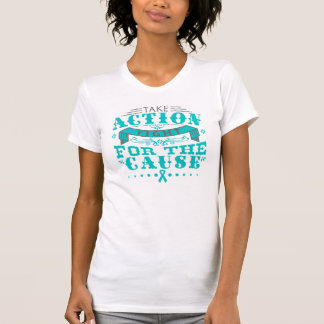 Myasthenia Gravis Take Action Fight For The Cause T-shirts