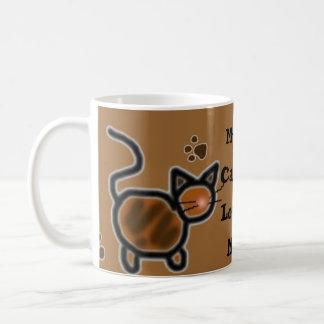 MyCatsLoveMe Classic White Coffee Mug