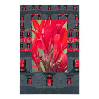 Mycenaean Floral Art Print Photo Print