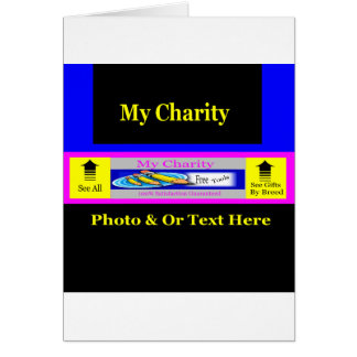 """MyCharity"" Card"