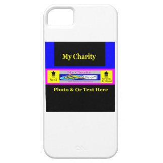 """""""MyCharity """" iPhone 5 Carcasa"""