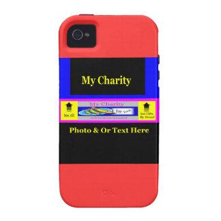 """MyCharity "" Case-Mate iPhone 4 Carcasas"