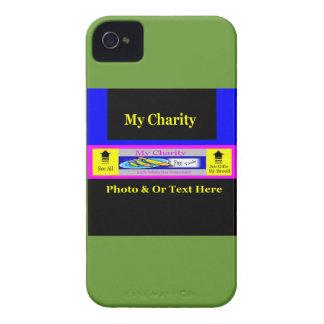 """MyCharity"" iPhone 4 Case-Mate Case"