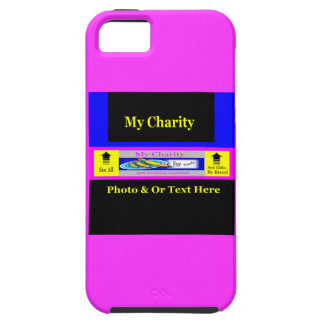 """""""MyCharity"""" iPhone 5/5S Cover"""