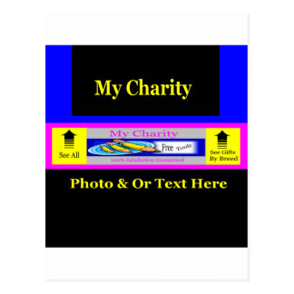 """MyCharity"" Postcard"