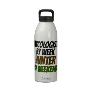 Mycologist Hunter Reusable Water Bottles
