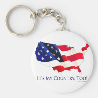 Mycountry.png Keychain