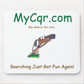 MyCqr.com, Searching Just Got Fun Again!,... Mouse Pad