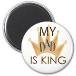 mydad.king imán de nevera