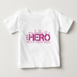 mydaddyisaheroproudarmybrat t-shirt
