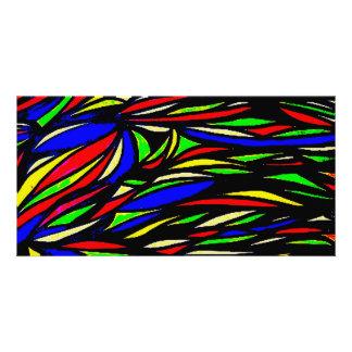 mydigitalcolourful seaweed painting card
