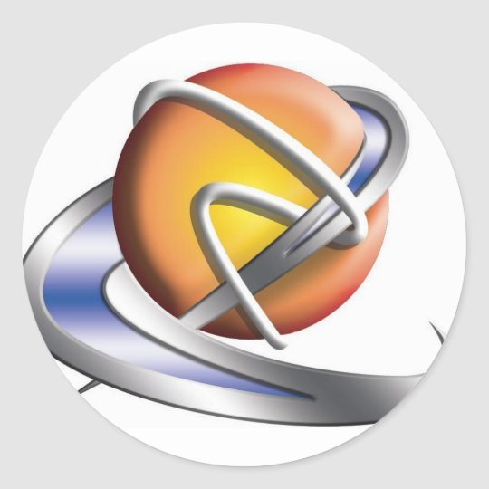 MyDVTech.com Classic Round Sticker