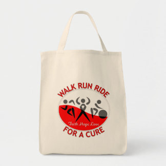 Myelodsplastic Syndromes Walk Run Ride For A Cure Canvas Bags