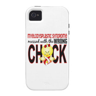 Myelodysplastic Syndrome Messed With Wrong Chick Case-Mate iPhone 4 Covers