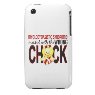 Myelodysplastic Syndrome Messed With Wrong Chick Case-Mate iPhone 3 Case