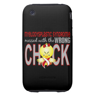 Myelodysplastic Syndrome Messed With Wrong Chick Tough iPhone 3 Cover