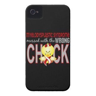 Myelodysplastic Syndrome Messed With Wrong Chick iPhone 4 Cases