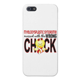 Myelodysplastic Syndrome Messed With Wrong Chick iPhone 5/5S Cases