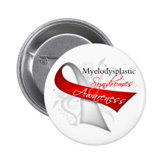Myelodysplastic Syndromes Awareness Ribbon Pinback Button