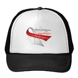 Myelodysplastic Syndromes Awareness Ribbon Hat