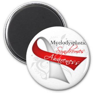 Myelodysplastic Syndromes Awareness Ribbon Refrigerator Magnet