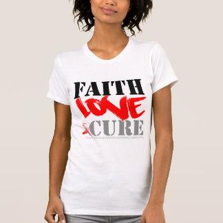 Myelodysplastic Syndromes Faith Love Cure Tshirt