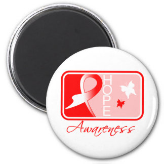 Myelodysplastic Syndromes Hope Awareness Tile 2 Inch Round Magnet