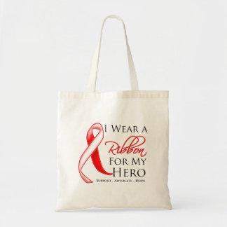 Myelodysplastic Syndromes I Wear a Ribbon For My H Bag