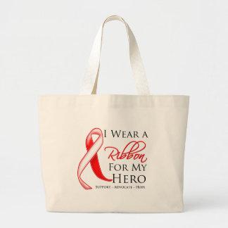 Myelodysplastic Syndromes I Wear a Ribbon For My H Canvas Bag