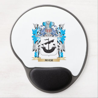 Myer Coat of Arms - Family Crest Gel Mousepads