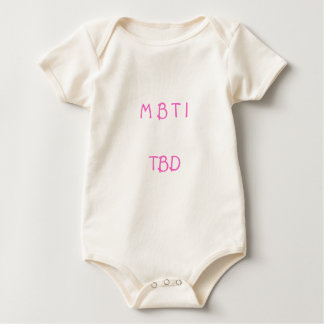 Myers Briggs Baby Bodysuit