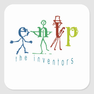 Myers-Briggs ENTP The Inventor Name Tag/Sticker Square Sticker