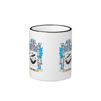 Myers Coat of Arms - Family Crest Ringer Coffee Mug