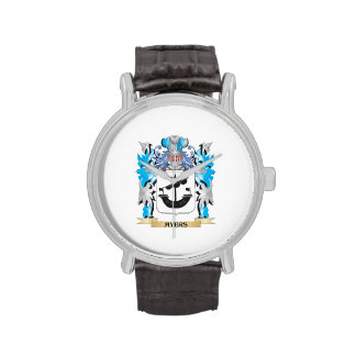 Myers Coat of Arms - Family Crest Wrist Watches