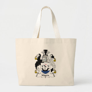 Myers Family Crest Canvas Bags