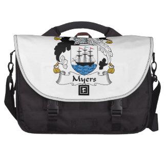 Myers Family Crest Laptop Messenger Bag