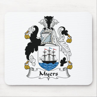 Myers Family Crest Mouse Pad