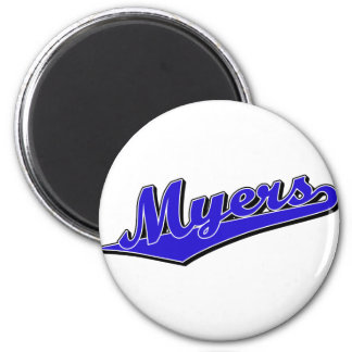 Myers in Blue Magnet