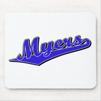 Myers in Blue Mouse Mats