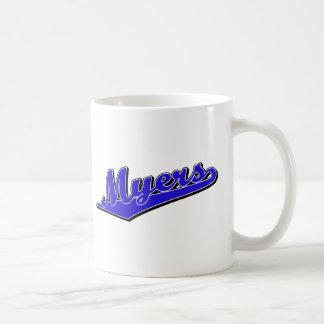 Myers in Blue Mug