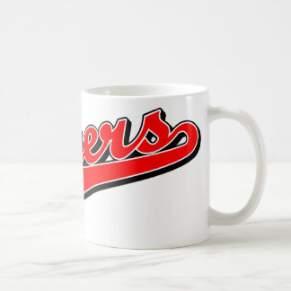 Myers in Red Mug