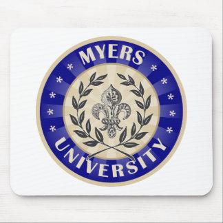 Myers University Round Mouse Mat