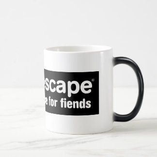 MyEscape, A Place For Fiends... 11 Oz Magic Heat Color-Changing Coffee Mug
